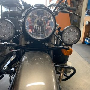 "Ural Black ""Dresser"" Spotlight Bar With Black LED SPOT LIGHTS (PN10236)"
