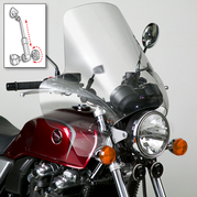 Ural Total Protection Touring Wind Sheild PN10347