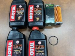 Ural Total Oil Change (All Synthetic Oil) Kit (PN10231) 2013 And Older