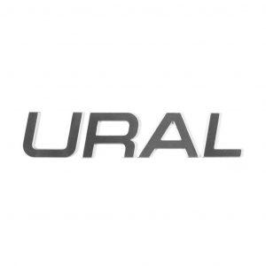 URAL Aluminum Tank Emblem  Part No. 10223.004