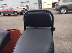 New Driver Back Rest